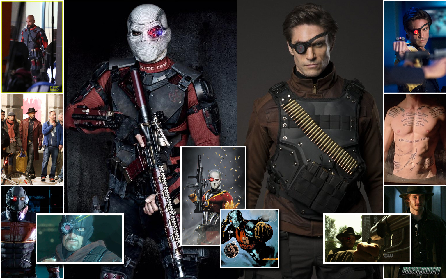 The Many Faces of Deadshot