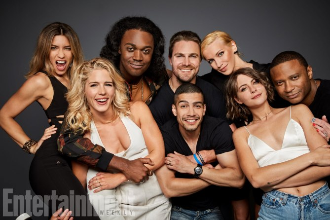 EW SDCC 2017 - Arrow Cast