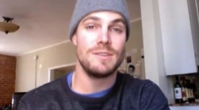 Stephen Amell Answers Fan Questions On Facebook