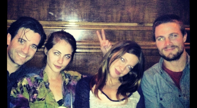 The Cast Of Arrow Hits The Town (With Pictures!)