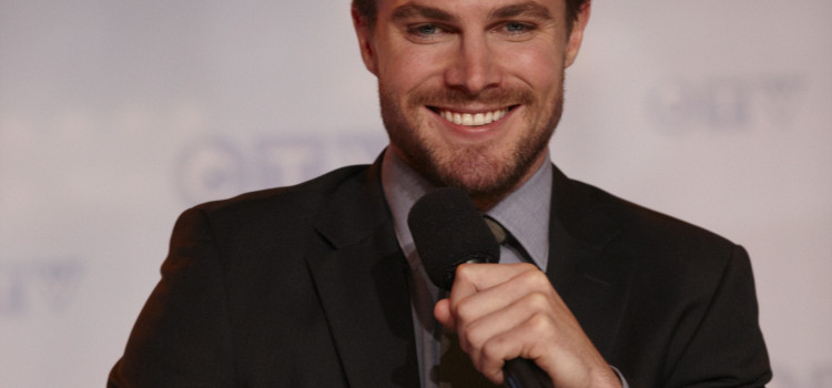 Images Of Stephen Amell At The CTV Upfront