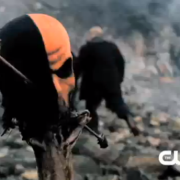Is That Deathstroke's Mask In The Extended Arrow Trailer?
