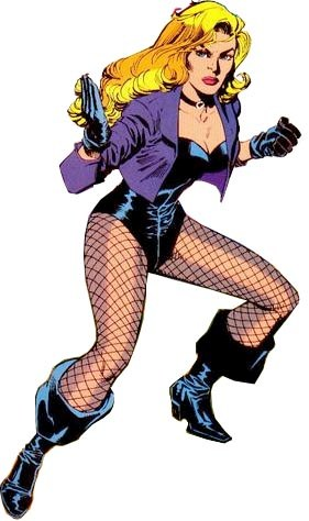 Hot Lovely DC Women: Black Canary