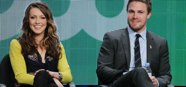 Pics: Stephen Amell, Katie Cassidy & Arrow Producers At The TCA Press Tour