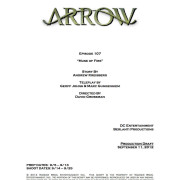 "Arrow Episode 7 Title Revealed: ""Muse of Fire"""