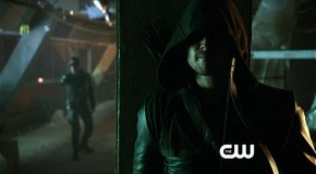 "Here Comes Deadshot: Screen Captures From The Arrow ""Lone Gunmen"" Trailer"