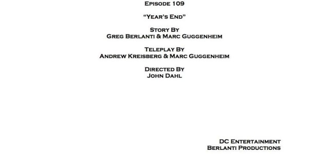 Arrow Episode 9 Title & Credits Revealed