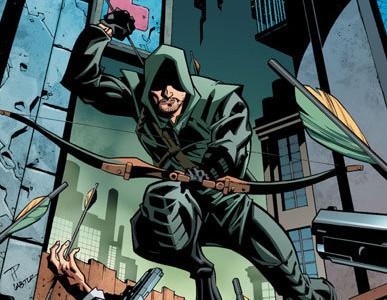 Arrow Print Comic #3 Solicitation
