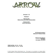 Arrow Episode 10 Title & Credits Revealed