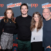 Images Of The Arrow Cast At New York Comic-Con!