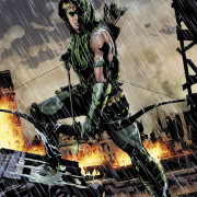 DC Unveils Andrea Sorrentino's First Green Arrow Cover In Full Color