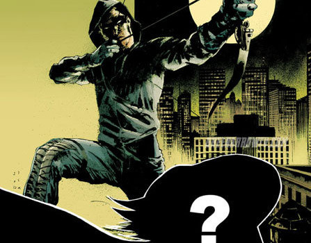 Arrow Printed Tie-In Comic Book #4 Cover & Details