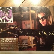 First Look At Arrow's Huntress!