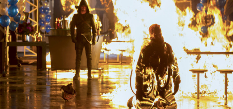 "Arrow ""Burned"" Ratings Report"