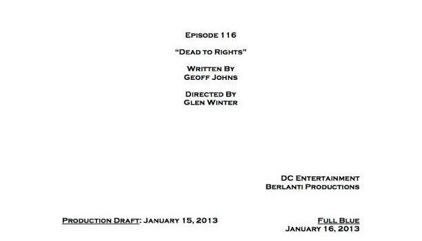 Glen Winter Is Directing Episode 16