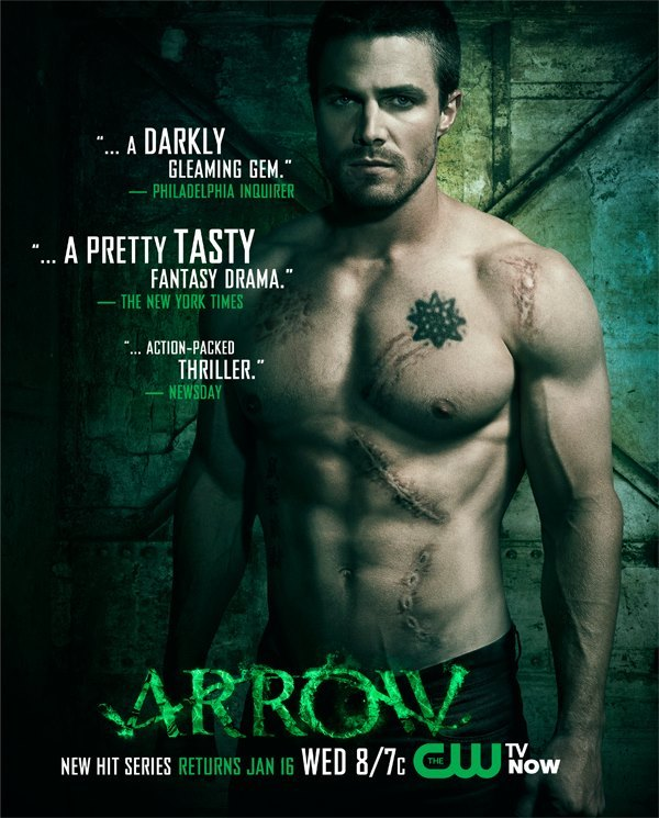 new arrow promo art the show returns january 16 greenarrowtv