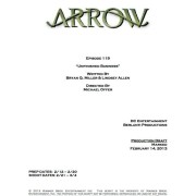 "Arrow Episode 19 ""Unfinished Business"" Co-Written By Bryan Q. Miller!"