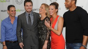 GATV Video: Stephen Amell Talks About &#8220;The Huntress Returns&#8221; &#038; A &#8220;Bonkers&#8221; Arrow Future