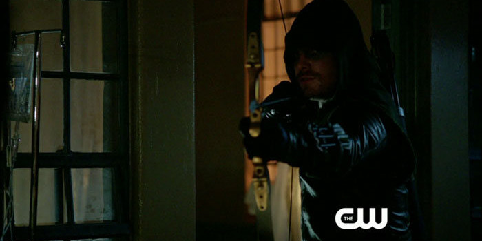 "Arrow: Screen Captures From The ""Unfinished Business"" Preview Trailer"