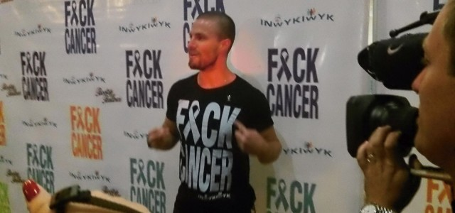 Interview: Stephen Amell & Julie Greenbaum Talk About F*ck Cancer