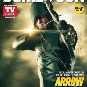 Arrow Lands On One Of TV Guide Magazine's Flip Covers For Comic-Con