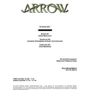 Credits – But No Title – For The Arrow Season 2 Premiere