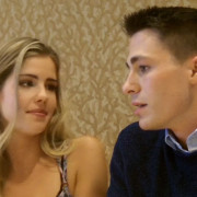 Video Interview: Colton Haynes & Emily Bett Rickards Talk Roy & Felicity!