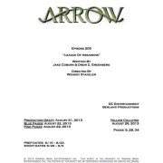 "Arrow Episode #2.5 ""League Of Assassins"" Credits Revealed"