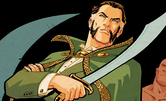 Arrow Episode #2.5 Title: Does This Imply… Ra's Al Ghul?!?!