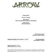 "Arrow ""State v. Queen"" Writer & Director Credits Revealed!"