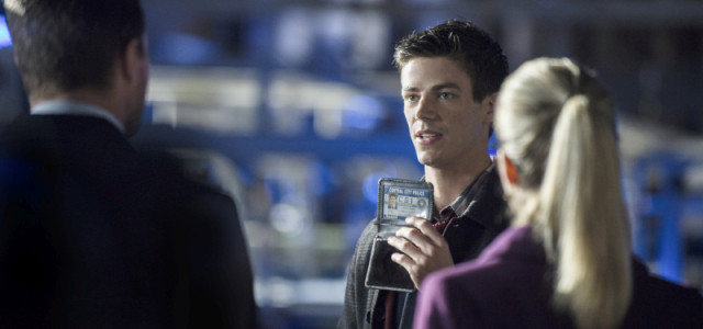 "Arrow: Over 20 Images From ""The Scientist"" – With Grant Gustin As Barry Allen!"
