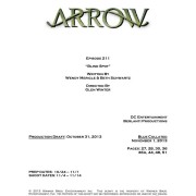 "Arrow Episode #2.11 Is ""Blind Spot"" – Credits Revealed!"