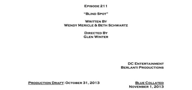 """Arrow Episode #2.11 Is """"Blind Spot"""" – Credits Revealed!"""