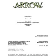 Arrow: Episode #2.12 Title & Credits Revealed