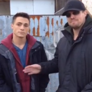 Video: Stephen Amell & Colton Haynes Preview Tonight's Arrow
