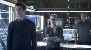 "Arrow: More Pics From ""Three Ghosts"" – With More Of Grant Gustin As Barry Allen!"