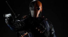 Arrow Behind The Scenes: See The Early Stages Of Deathstroke's New Look!