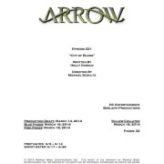 Arrow Episode #2.21 Title & Credits Announced