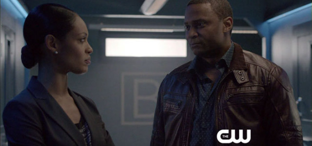 "Arrow Preview Clip Screencaps: John Diggle Meets The ""Suicide Squad!"""