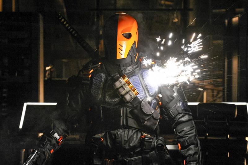 "Arrow #6.5 Description: ""Deathstroke Returns"""