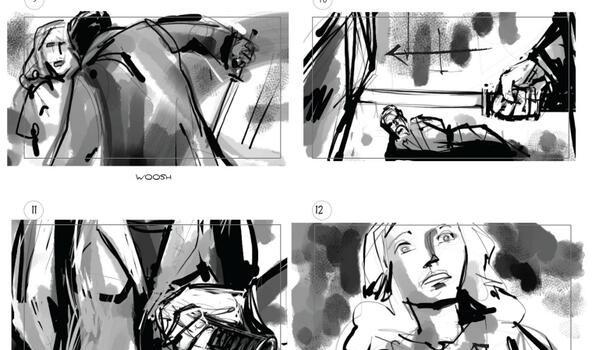 Marc Guggenheim Shares The Storyboard For… THAT Scene (Spoiler)
