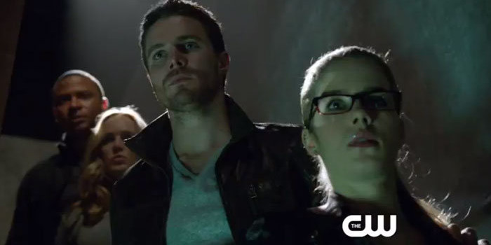 "Arrow: Screencaps From ""The Man Under The Hood"" Promo!"