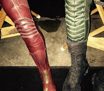 Stephen Amell & Grant Gustin: The Legs of Arrow & The Flash