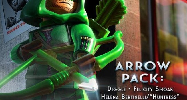 Arrow DLC Pack Coming for LEGO Batman 3