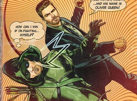 Comic-Style Promotional Art For The Arrow Season Premiere