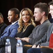 Arrow & Flash TCA Panel Photos: In Which Katie Cassidy's Job Sucks