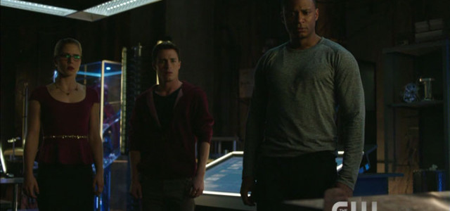 """Arrow: Screencaps From The New """"Left Behind"""" Promo Trailer"""