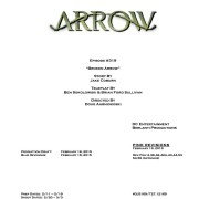 "Arrow #3.19 ""Broken Arrow"" Credits Revealed"