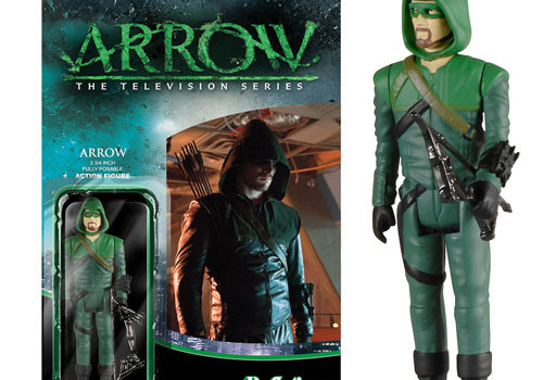 Arrow ReAction Figures Join Funkos In Available Pre-Orders