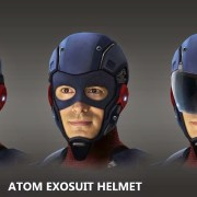 Atom: Concept Art By Andy Poon